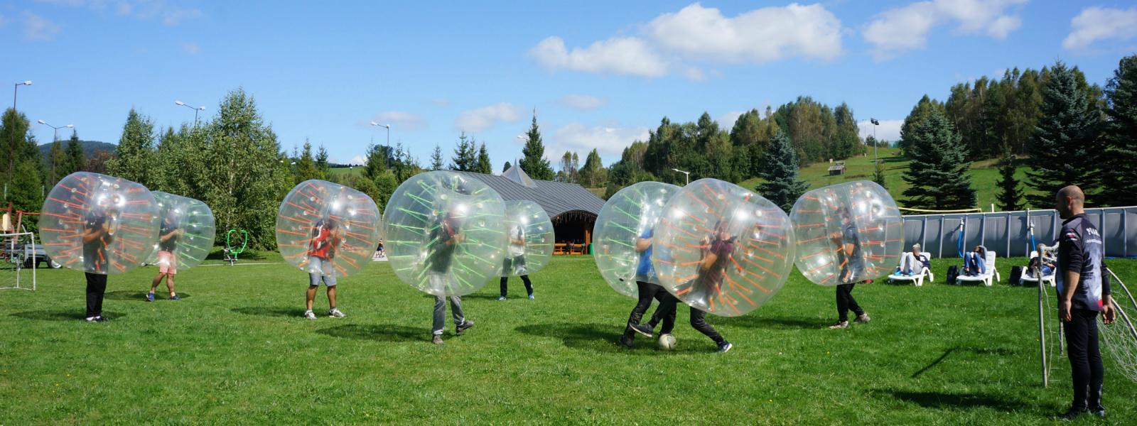 Bumper Ball – mistrzowie imprez integracyjnych.