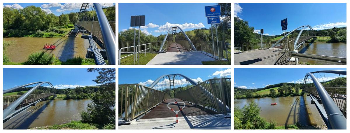Otwarcie nowych kładek rowerowych w ramach tras rowerowych EuroVelo 11.