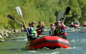 Spływ pontonowy - Hotel Activa***