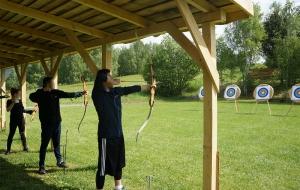 Turniej na strzelnicy łuczniczej